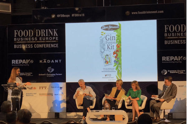 Drink Botanicals Ireland a finalist in the Lions Den pitch competition 2018