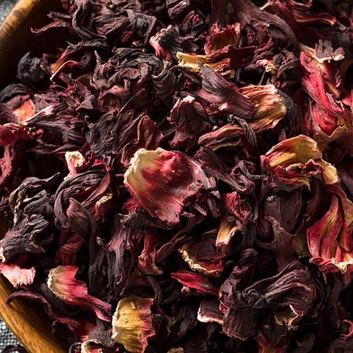 Ingredients-for-botanical-cocktails-fruits-flowers-and-spices-in-drinks-dried-hibiscus-petals